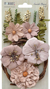 "Sandcastle - Seaside Blooms 1.5""-2.25"" 16/Pkg"