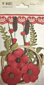 "Poppy - Cottage Blooms 2"" 12/Pkg"