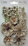"""Linen - Blossom Blends 2.5"""" 13/Pkg"""