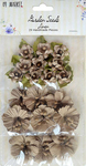 "Linen - Garden Seed Flowers .75""-1.5"" 29/Pkg"