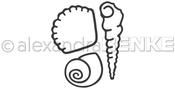 "Seashells .97""X.90"" - Alexandra Renke Dies"