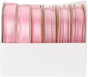 Light Pink - Satin Opalesence Boxed Ribbon Assortment 24/Pkg