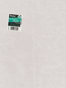 "White - Perforated Plastic Canvas 14 Count 8.5""X11"""