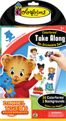 Daniel Tiger - Colorforms(R) Take Along Re-Stickable Sticker Set