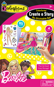 Barbie - Colorforms(R) Create A Story Re-Stickable Sticker Set