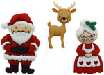 Mr. & Mrs. Claus - Dress It Up Holiday Embellishments