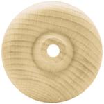 """Toy Wheel .75""""X.1875"""" (1/8"""" Hole) 12/Pkg - Wood Turning Shapes"""