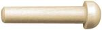 """Axle Peg 1.375""""X.375""""X15/64"""" 7/Pkg - Wood Turning Shapes"""