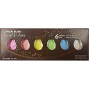 Pearl Colors - Kuretake Gansai Tambi 6 Color Set