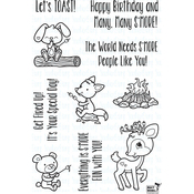 """S'More Fun - Your Next Stamp Clear Stamps 4""""X6"""""""