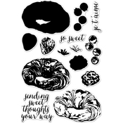 """Color Layering Croissant - Hero Arts Clear Stamps 4""""X6"""""""