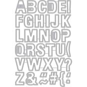Luggage Tag Alphabet - Hero Arts Frame Cut Dies