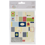 School - Project Life Themed Cards 60/Pkg