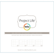 Small Variety Pack 5 - Project Life Photo Pocket Pages 12/Pkg