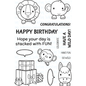 """Stacked With Fun - Your Next Stamp Clear Stamps 4""""X6"""""""