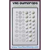 White Sugar & Sparkle - Your Next Stamp Gumdrops Embellishments 54/Pkg