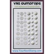 White Sugar & Sparkle - Your Next Stamp Gumdrops Embellishments 54/Pkg