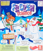 Frozen Science Kit Have you ever wanted to build a snow fort, but never had enough snow, patience, or time? Well now you can! This Frozen Science kit comes with everything you need to create a frozen scene including snow balls a snowman, fake ice, and even a snow fort. This package contains 1.41oz of Insta-Snow powder, six fizzling color tablets, 0.35oz of super absorbent crystals, 0.35oz of water gel powder, one plastic snow stacking tube, one 3 inch snowball mold, one 2 inch plastic snowball mold, one 1.5 inch plastic snowball mold, one plastic snow block mold, one plastic measuring cup, three 2oz plastic cups, one 9oz plastic cup, one plastic cup, eyes, nose to decorate a snowman and instructions. Conforms to ASTM F963. WARNING: Choking Hazard- small parts. Not for children under 3 years. Recommended for ages 4 and up. Imported.