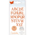 Windsor Font Upper Case - Tonic Studios Simple Type Dies
