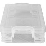Clear - Storage Studios Super Stacker Pencil Box