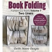 Volume 7, 16 Two-Liner Designs - Debbi Moore CD Rom Book Folding Patterns