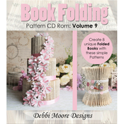 Volume 9, 8 Designs - Debbi Moore CD Rom Book Folding Patterns