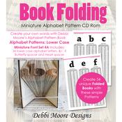 Times New Roman Alpha 4A, Mini Lower - Debbi Moore CD Rom Book Folding Patterns