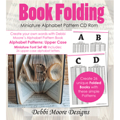 Times New Roman Alpha 4B, Mini Upper - Debbi Moore CD Rom Book Folding Patterns