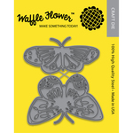 Pretty Butterflies - Waffle Flower Die