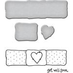 Get Well Soon - Spellbinders Stamp & Die Set By Tammy Tutterow