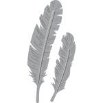 Two Feathers - Spellbinders Shapeabilities Die D-Lites