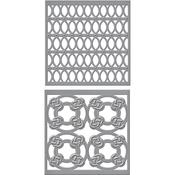 Tiled Spheres - Spellbinders Shapeabilities Dies By Stacey Caron