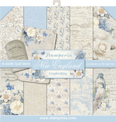 """Old England, 10 Designs/1 Each - Stamperia Double-Sided Paper Pad 12""""X12"""" 10/Pkg"""