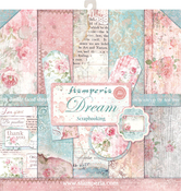 """Dream, 10 Designs/1 Each - Stamperia Double-Sided Paper Pad 12""""X12"""" 10/Pkg"""