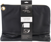Black - See Jane Work Tablet Clutch Slip this clutch inside your larger business bag to protect a small laptop or tablet or store your essentials in it so you can leave your larger bag at your desk when heading out to lunch, dinner or errands. Crafted from durable nylon and faux leather, this tablet clutch looks and feels like a luxury clutch, but on the inside it's all about function. The well-designed pockets will keep your technology and essentials completely organized, while the detachable strap gives you versatility to carry it as a wristlet. With four interior pockets and three credit card slots, you'll have everything you need to manage life on-the-go. This package contains one clutch measuring approximately 13.5x10x1 inches. Imported.