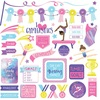 I Love Gymnastics Element Stickers - Photoplay