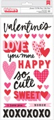 Sweetest Puffy Phrases Stickers - Crate Paper