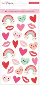 Main Squeeze Gold Foil Puffy Stickers - Crate Paper