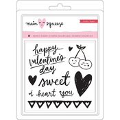 Main Squeeze Clear Stamps - Crate Paper
