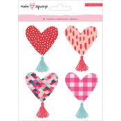 Heart Tassels - Main Squeeze - Crate Paper
