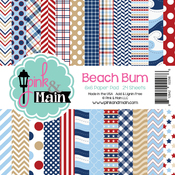"""Beach Bum - Pink & Main Double-Sided Paper Pad 6""""X6"""" 24/Pkg"""