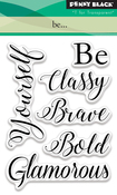 "Be... - Penny Black Clear Stamps 3""X4"""