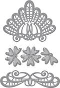 Venise Lace-Isadora Trinkets - Spellbinders Shapeabilities Dies By Becca Feeken