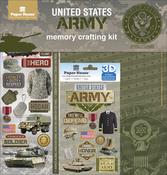 """Army - U.S. Military Page Kit 12""""X12"""""""