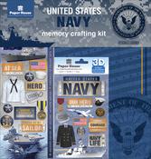 "Navy - U.S. Military Page Kit 12""X12"""