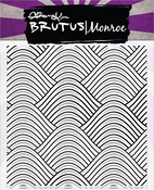 "Wave Background - Brutus Monroe Clear Stamps 5.75""X5.75"""