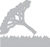 Thorn Tree & Grasses - Hero Arts Fancy Dies