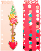 Be Happy - My Prima Planner Plastic Bookmark Divider 2/Pkg