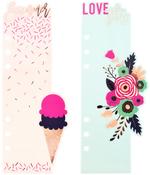 Good Vibes - My Prima Planner Plastic Bookmark Divider 2/Pkg