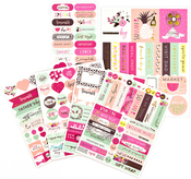 Good Vibes - My Prima Planner Stickers 5/Pkg
